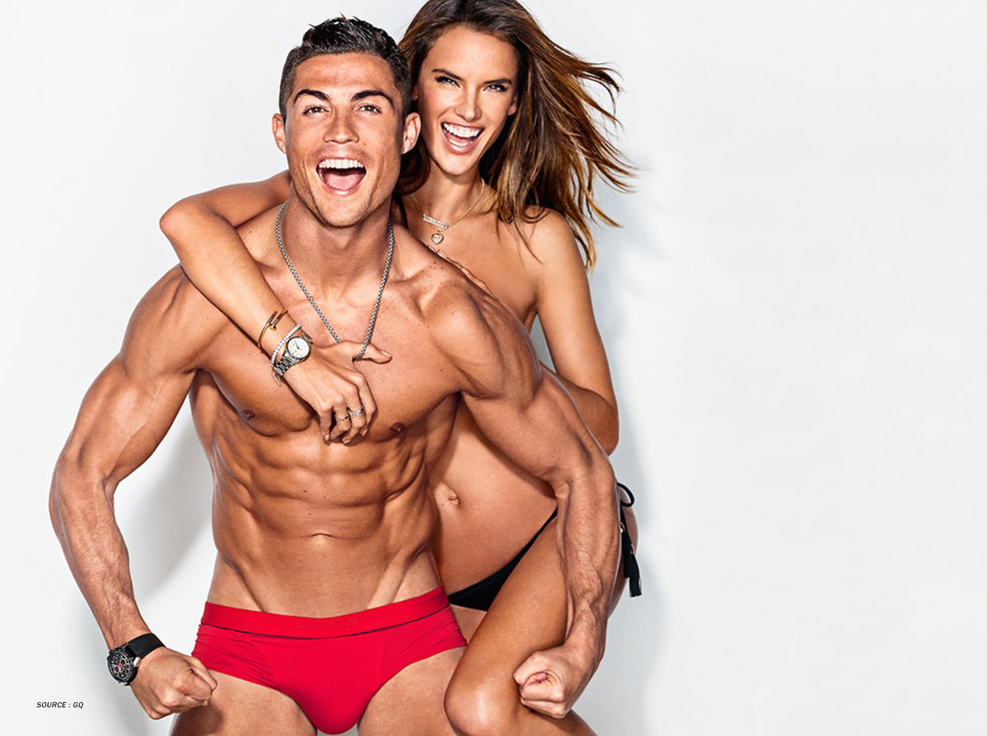 BODYHIT EMS Cristiano Ronaldo Victoria Ambrosio