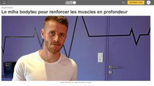 Ouest France parle de BODYHIT et Fabrice Glet