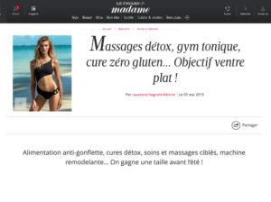 Figaro Madame parle de Miha Bodytec