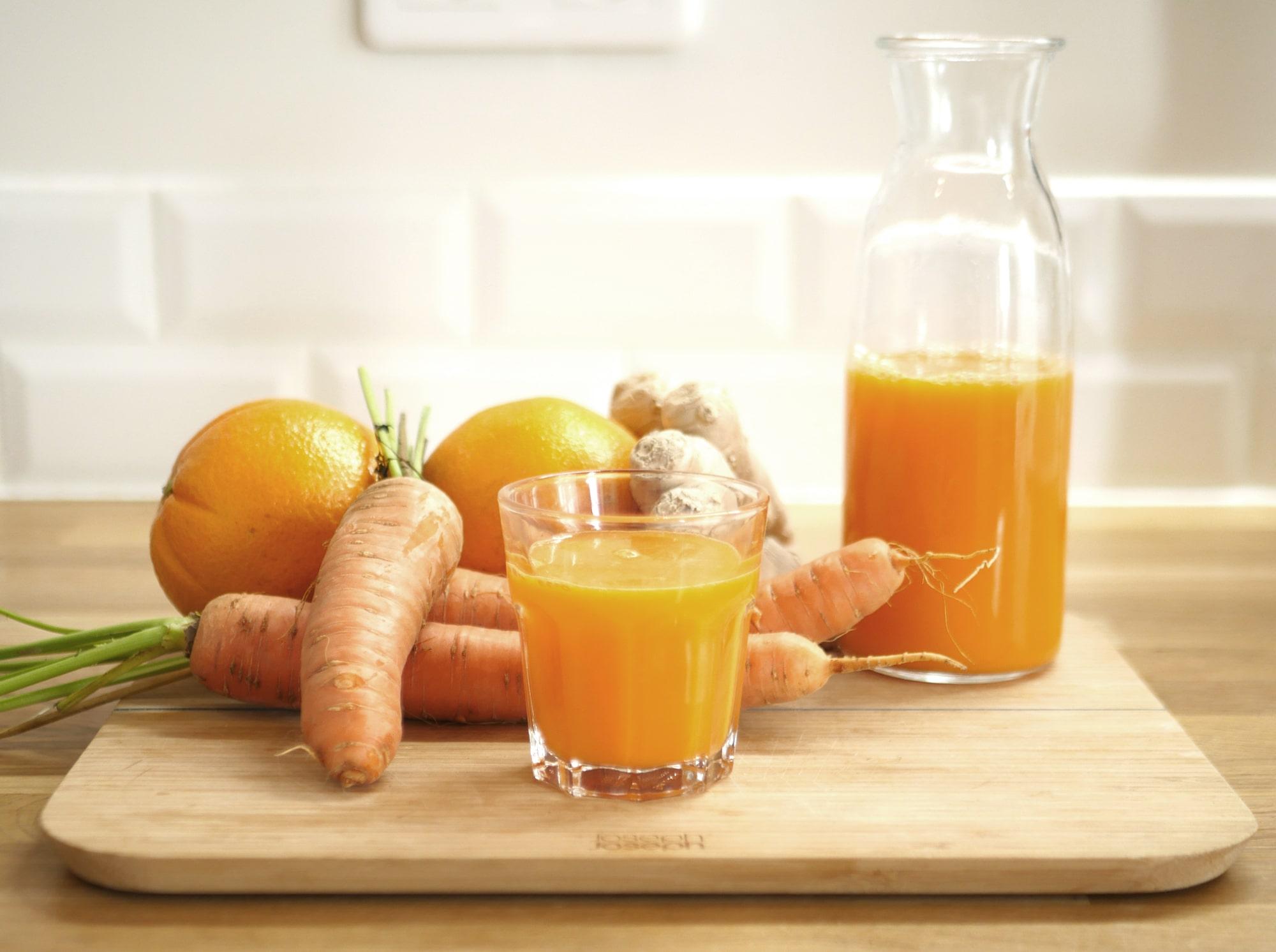 Recette de carottes orange