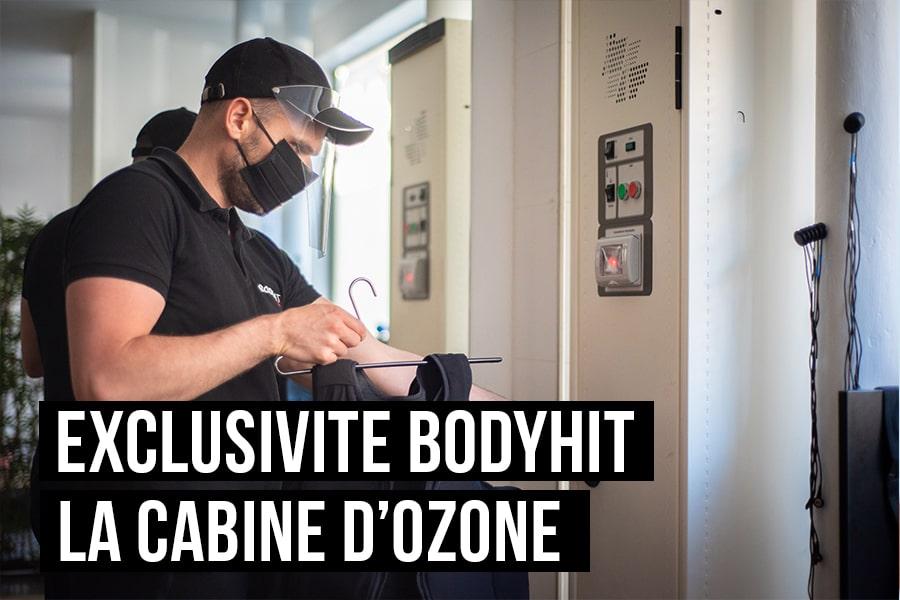 cabine d'ozone seulement chez BODYHIT