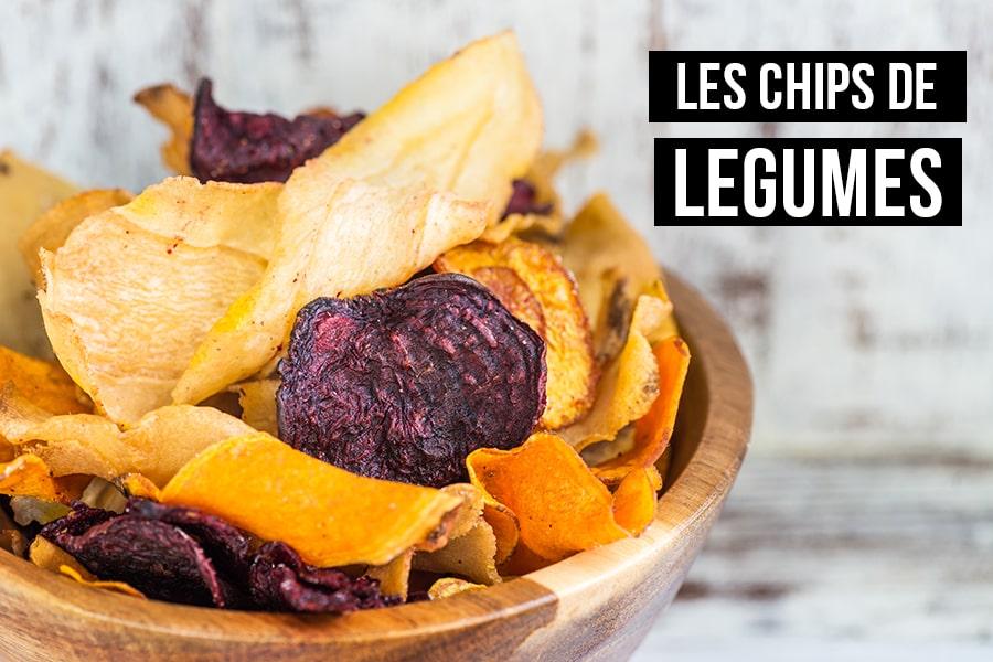 la recette des chips de légumes