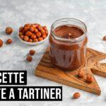 Recette légère de pâte de noisettes à tartiner